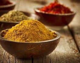Gurkmeja och Kaschmir curry