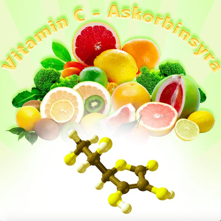 askorbinsyra istället för c vitamin